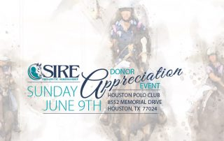 SIRE Donor Appreciation Event, Sunday, June 9